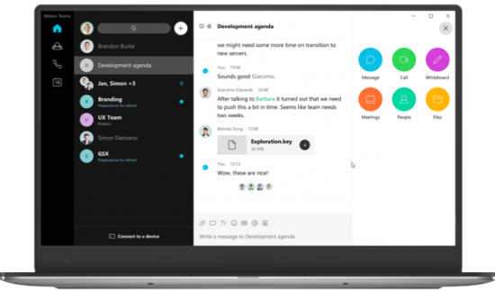 A Bright Future for Webex Teams