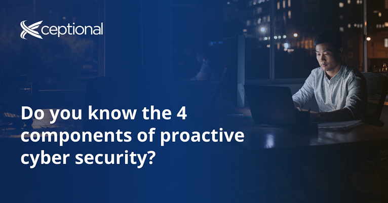 How to Transition to Proactive Cyber Security
