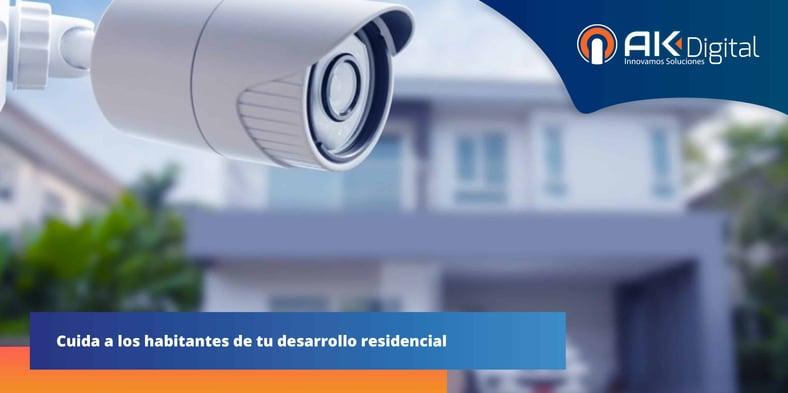 ¿Cómo integrar seguridad electrónica en residenciales?