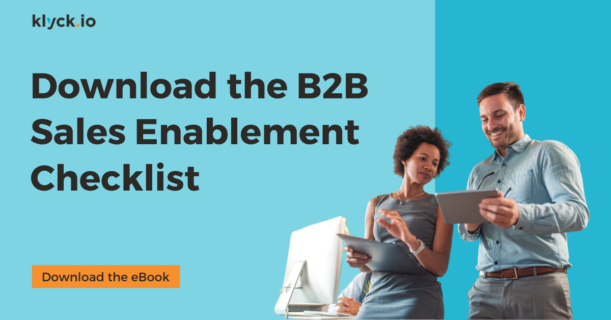The B2B Sales Enablement Checklist