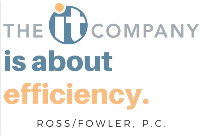The IT Company is About Efficiency