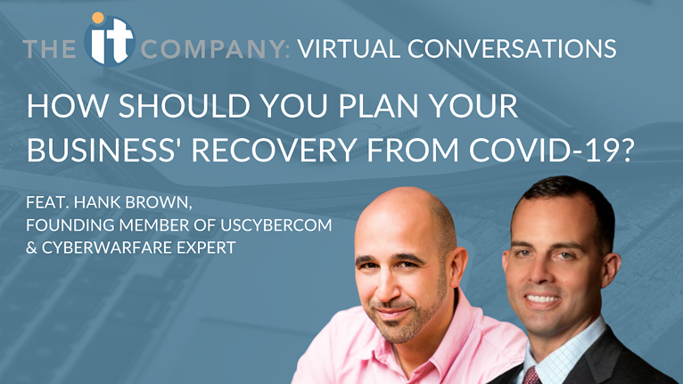 How should you plan your business' recovery from COVID-19?