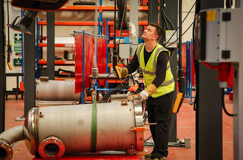 Welding Automation Strengthens Amazon Filters' Reach