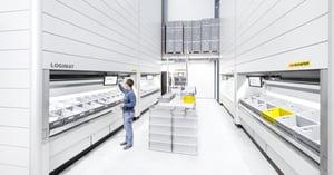 Vad gör lagerautomater så flexibla?