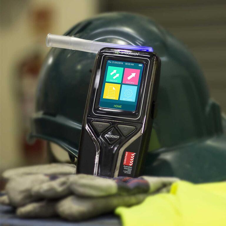 Andatech Prodigy S breathalyser certified under Australian Standards AS3547
