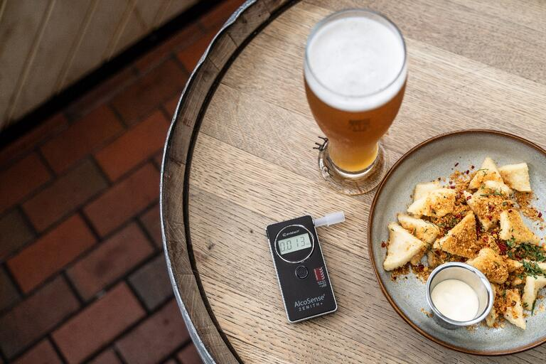 Factors affecting breathalyser accuracy