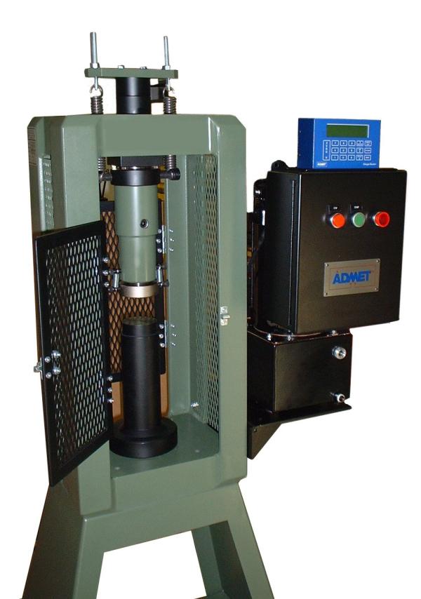concrete cylinder testing machine