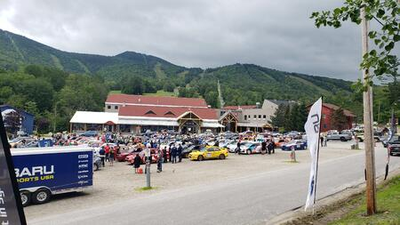 Spectating a Rally for the First Time