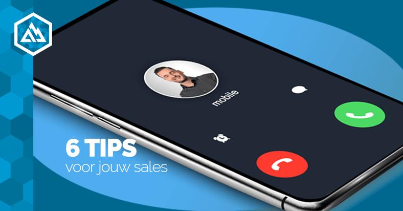 6 tips voor jouw sales
