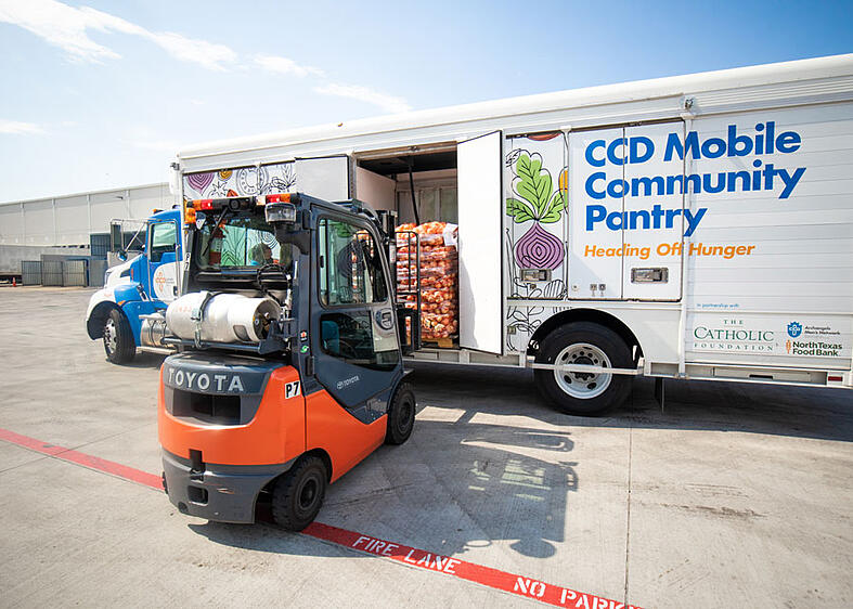 Catholic Charities Dallas to significantly expand food distribution capacity with $700k in community support