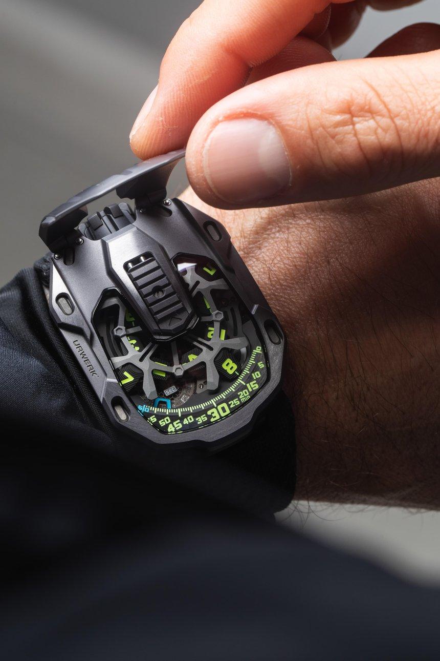 Urwerk watch