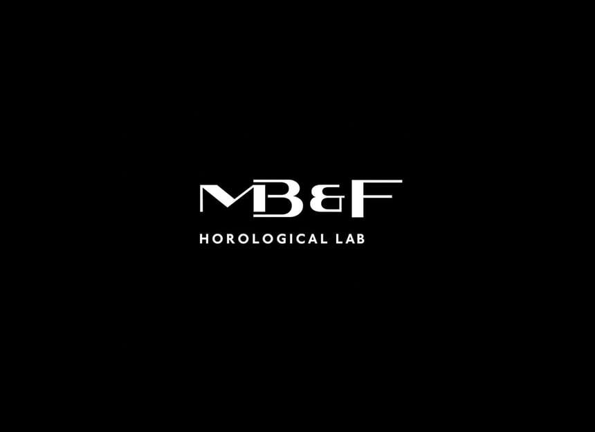MB&F logo white