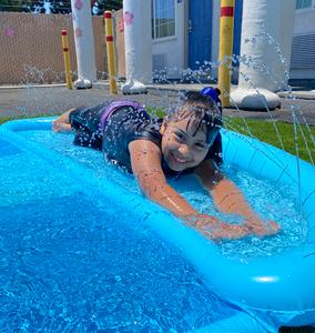 On the slip 'n slide
