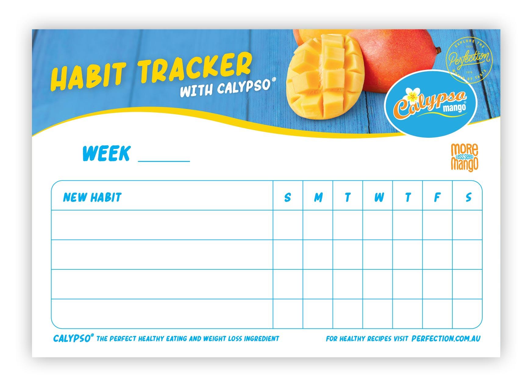 Calypso Mango Habit Tracker
