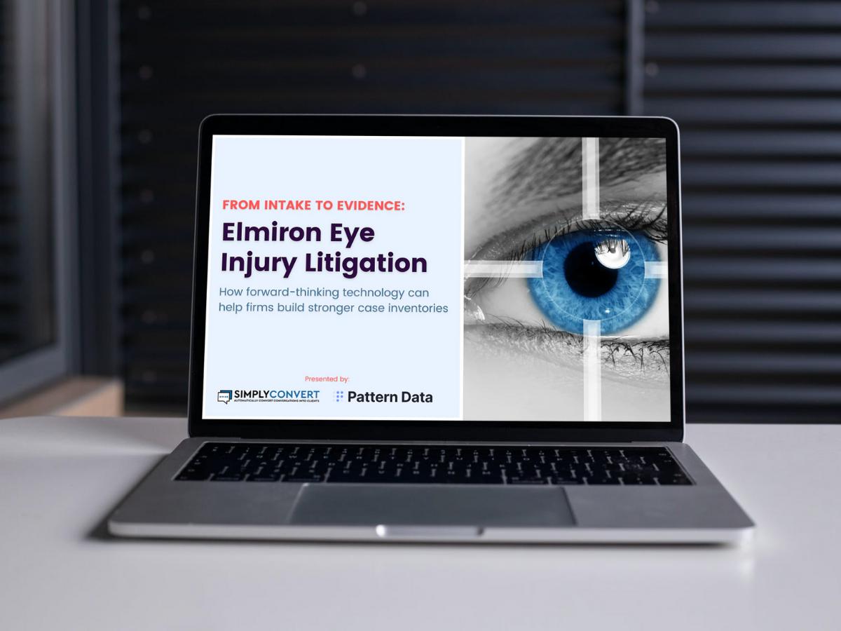 Intake to Evidence: Elmiron Eye Injury Litigation