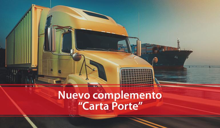 Nuevo complemento - Carta Porte