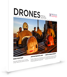 Drone data collection for mine - cover spine drop 300px
