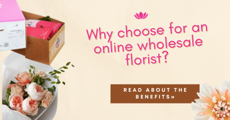 Why choose for an online wholesale florist?