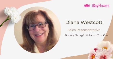 Diana Wescott joins iBuyFlowers!