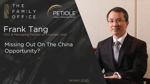 Frank Tang | Missing out on the China Opportunity?