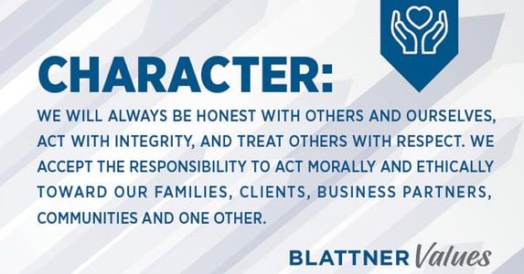 Blattner Values Character