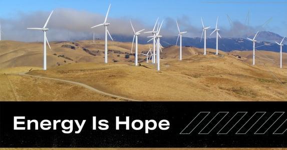 Energy Is Hope