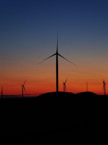 SF 1 - Turbine Sunset