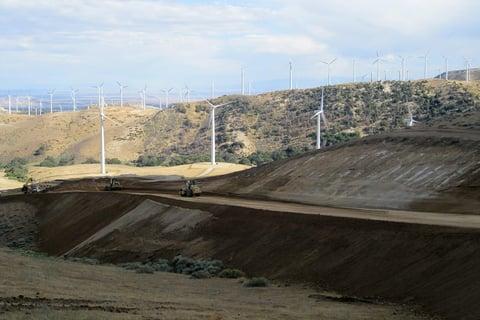 Job Photo 6 - Turbines and Roads