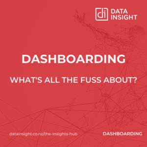 Dashboarding - what's all the fuss about?
