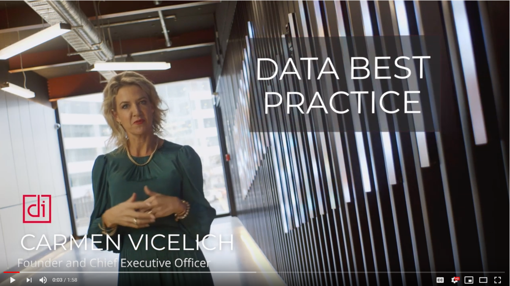 Data Best Practice with Carmen Vicelich