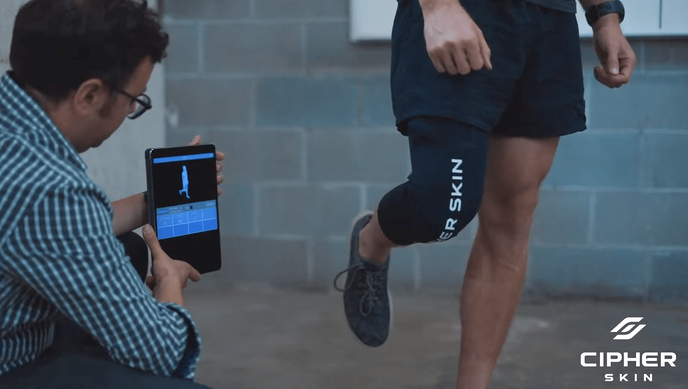 Cipher Skin Knee BioSleeve: A Revolutionary Tool for Athletes' Recovery