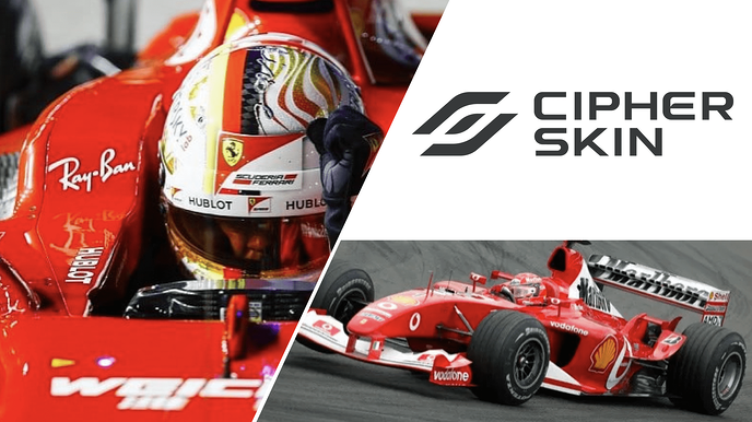 Cipher Skin & Formula 1: Monitoring the Driver to Improve Team Performance