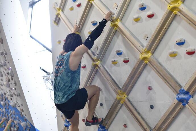 Cipher Skin TestsBioSleeveon Elite-level Climbers at IFCS