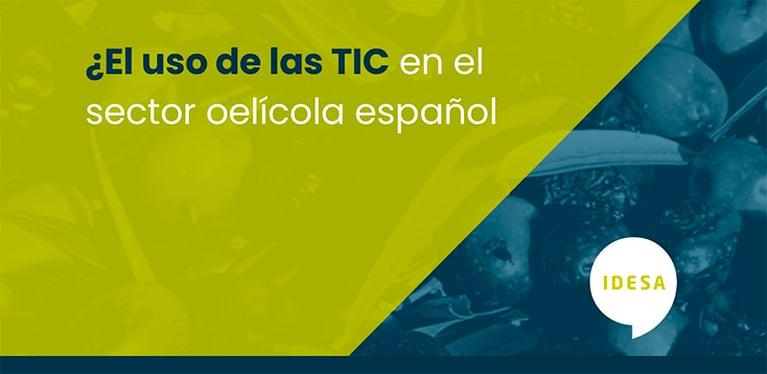 El uso de las TIC en el sector oleícola español