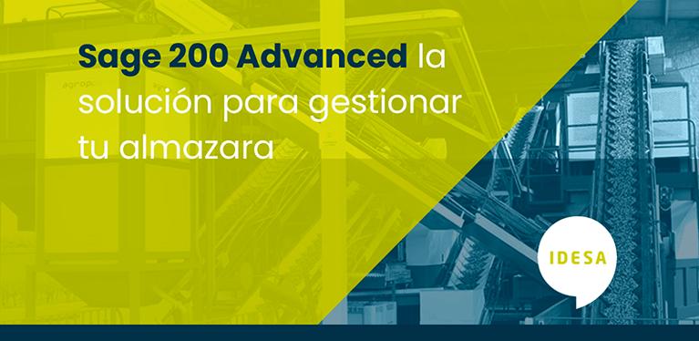 Sage 200 Advanced, la solución para gestionar tu almazara