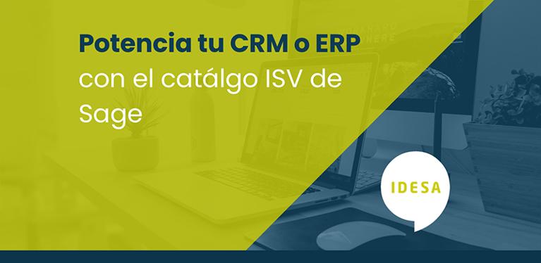 Potencia tu CRM o ERP con el catálogo ISV de Sage