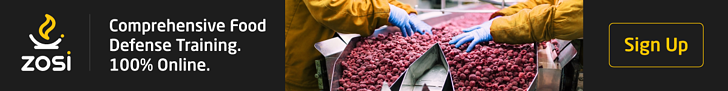 Food Defense Blog Post Ad