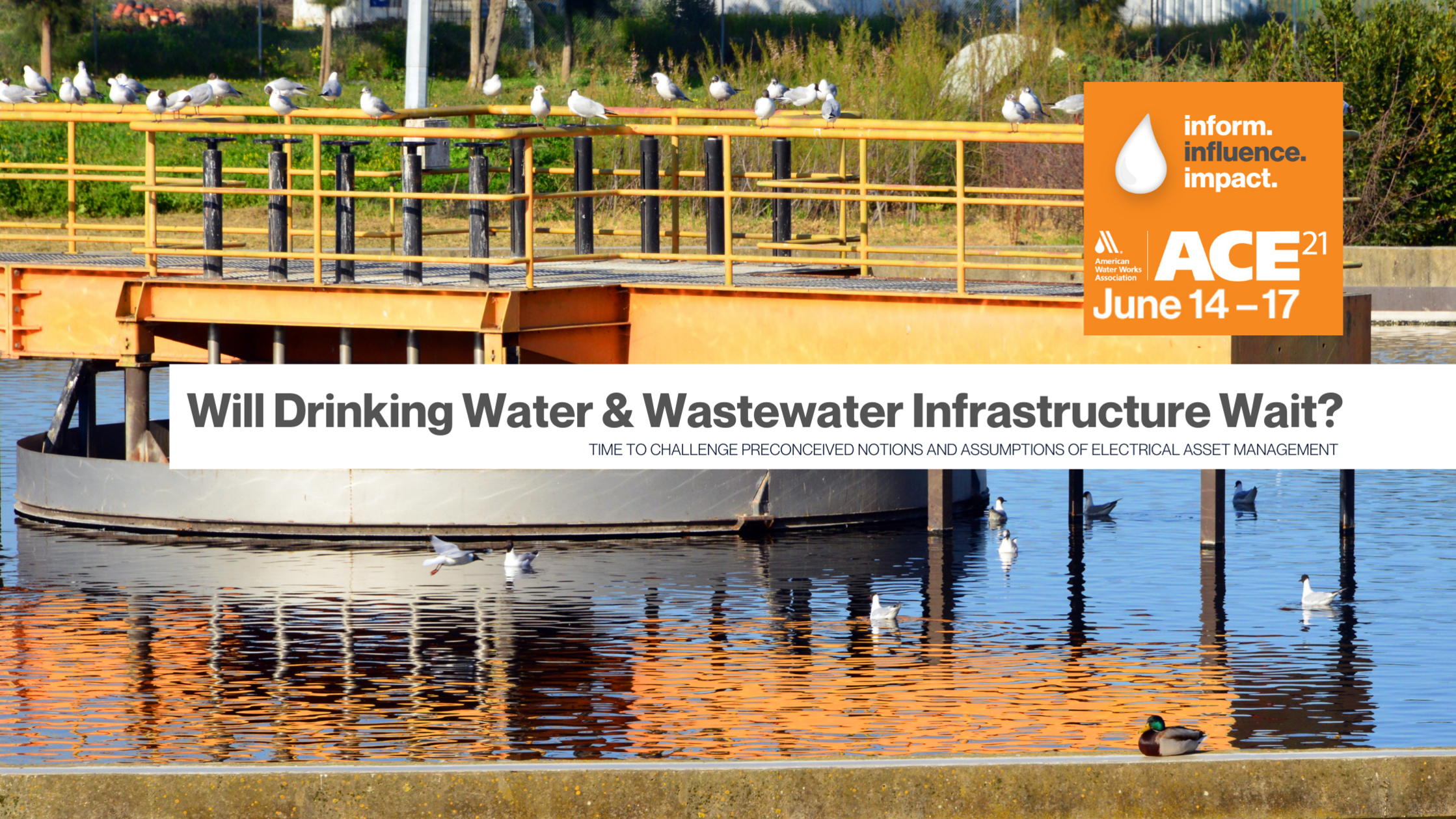 Will Drinking Water & Waste Water Infrastructure Stand the Wait?