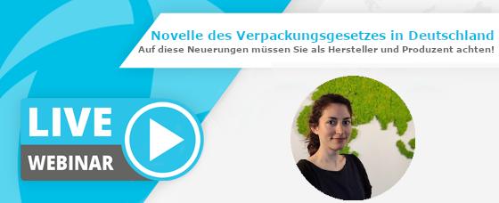 Webinar-Aufzeichnung | Die Novelle des Verpackungsgesetzes in Deutschland
