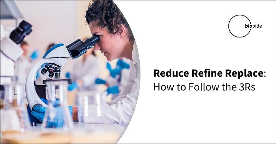 Reduce Refine Replace: How to Follow the 3Rs