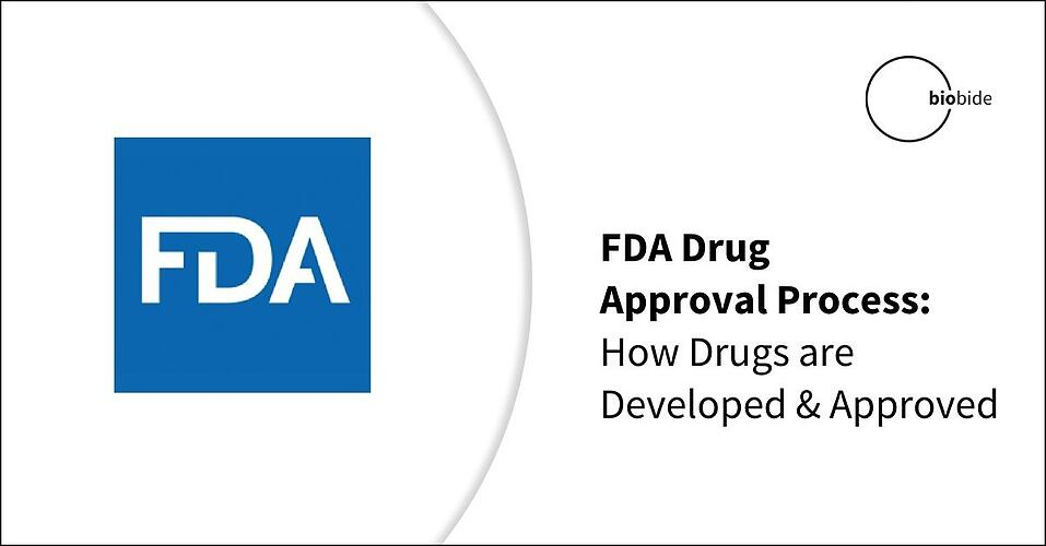 FDA Drug Approval Process: How Drugs are Developed and Approved