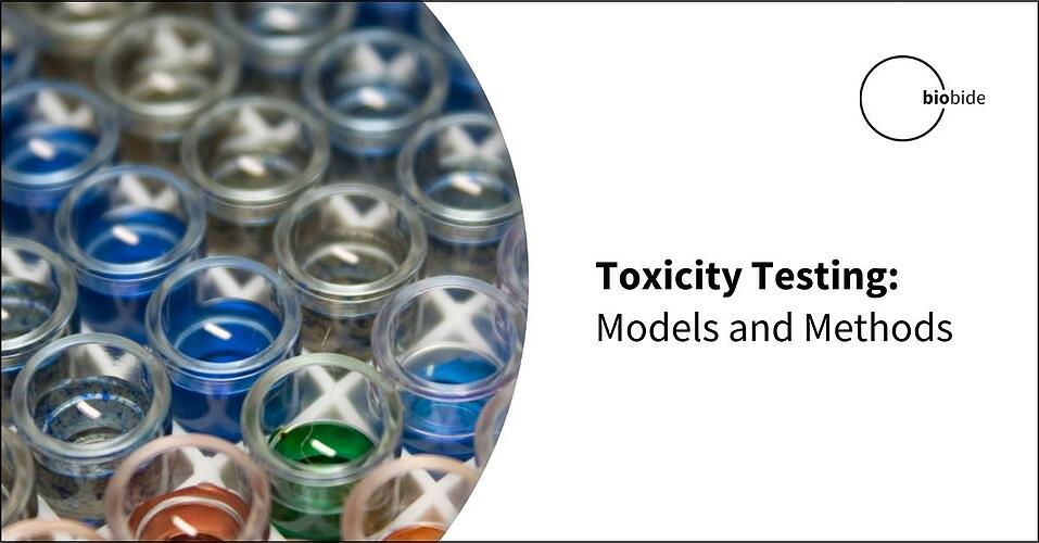 Toxicity Testing: Models and Methods