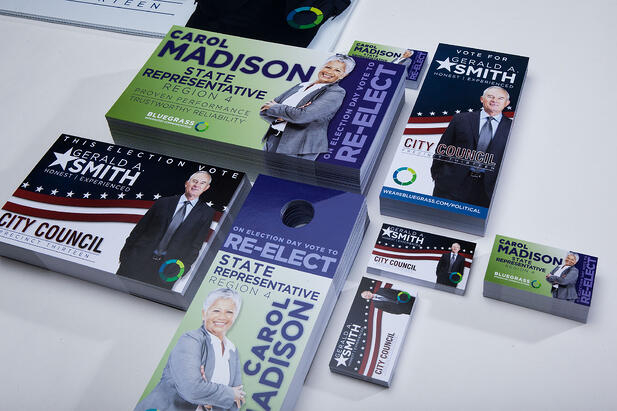 Kick Off Your Campaign with Branded Political Campaign Materials