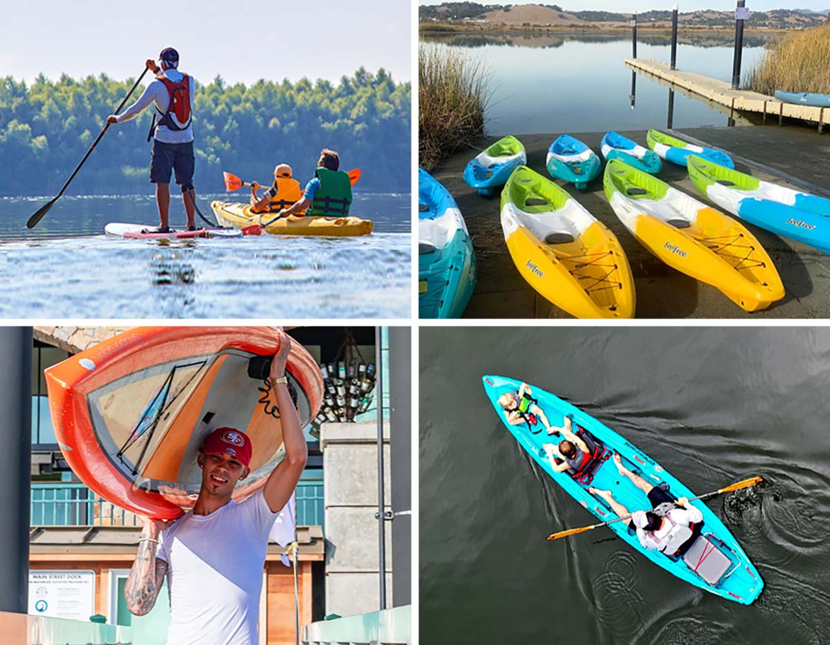 Try a Kayak or Paddleboard Before You Buy