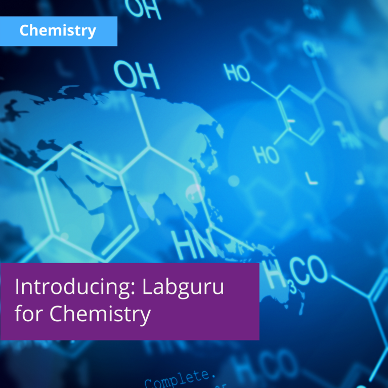 Introducing: Labguru Electronic Lab Notebook for Chemistry