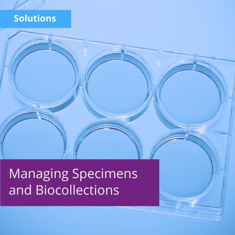 Managing Specimens and Biocollections With Labguru ELN