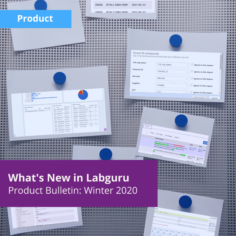 What's New in Labguru: Research Lab Management Features from Winter 2021