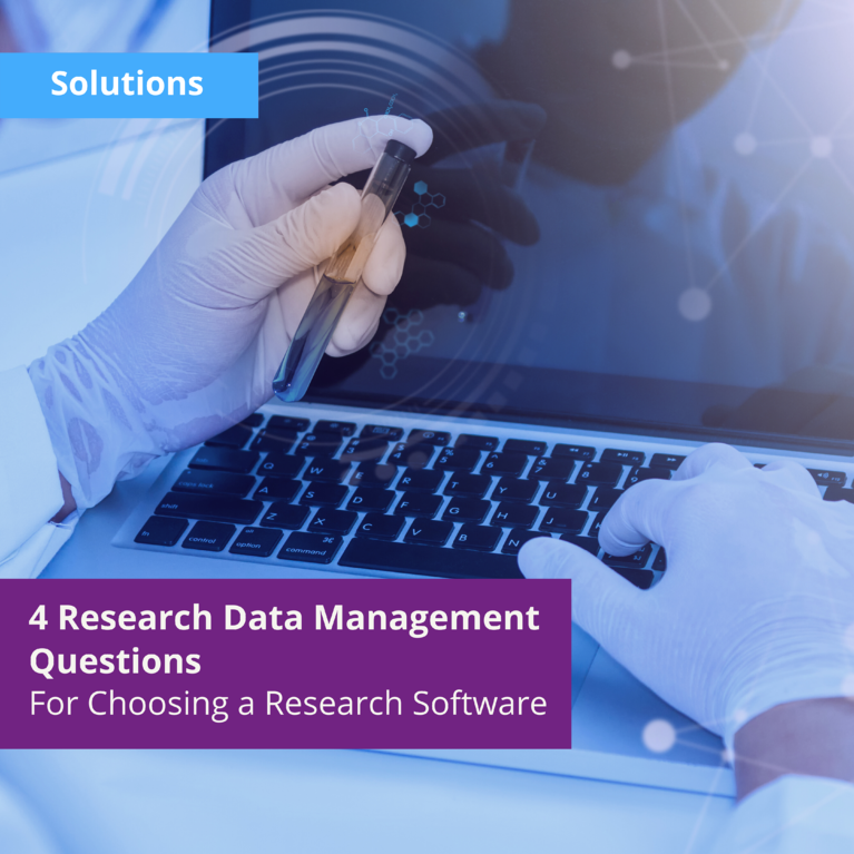 4 Research Data Management Questions to Ask Yourself When Choosing a Research Software