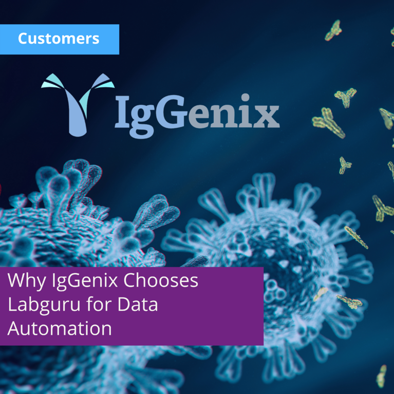 Why Labguru is IgGenix's Number One Choice for an Informatics Software