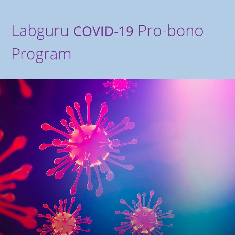 Labguru announces $1M pro-bono program for COVID-19 treatment developers